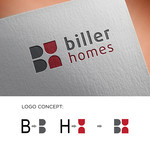 Biller Homes Logo - Entry #119