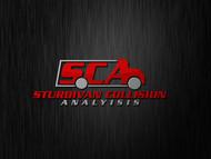 Sturdivan Collision Analyisis.  SCA Logo - Entry #55