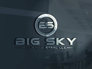 Big Sky Custom Steel LLC Logo - Entry #6