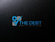 The Debt What If Calculator Logo - Entry #67