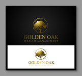 Golden Oak Wealth Management Logo - Entry #216