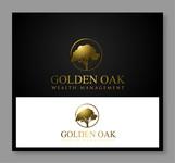 Golden Oak Wealth Management Logo - Entry #216
