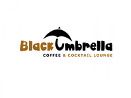 Black umbrella coffee & cocktail lounge Logo - Entry #21