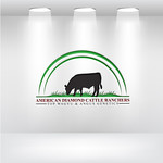American Diamond Cattle Ranchers Logo - Entry #152