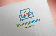 Living Room Travels Logo - Entry #52