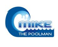Mike the Poolman  Logo - Entry #103