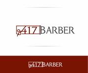 417 Barber Logo - Entry #39