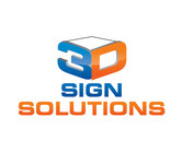 3D Sign Solutions Logo - Entry #6