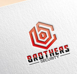 Brothers Security Logo - Entry #163
