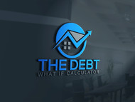 The Debt What If Calculator Logo - Entry #73