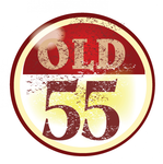 """""""OLD 55"""" - mid-century vintage furniture and wares store Logo - Entry #47"""