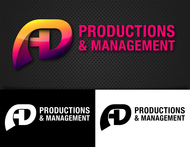 Corporate Logo Design 'AD Productions & Management' - Entry #99