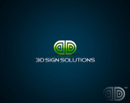 3D Sign Solutions Logo - Entry #161