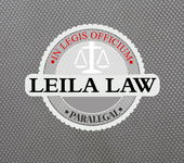 Leila Law Logo - Entry #110