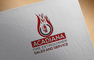 Acadiana Fire Extinguisher Sales and Service Logo - Entry #189