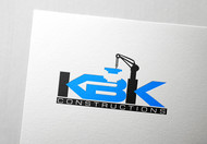 KBK constructions Logo - Entry #26