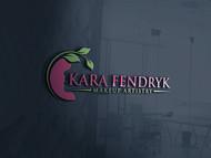 Kara Fendryk Makeup Artistry Logo - Entry #14