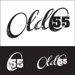 """""""OLD 55"""" - mid-century vintage furniture and wares store Logo - Entry #84"""