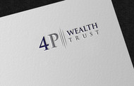 4P Wealth Trust Logo - Entry #330