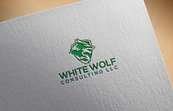 White Wolf Consulting (optional LLC) Logo - Entry #154