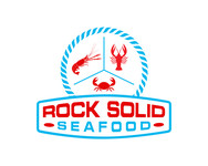 Rock Solid Seafood Logo - Entry #62