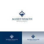 ALLRED WEALTH MANAGEMENT Logo - Entry #546