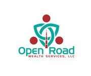 "Open Road Wealth Services, LLC  (The ""LLC"" can be dropped for design purposes.) Logo - Entry #48"