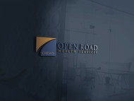 "Open Road Wealth Services, LLC  (The ""LLC"" can be dropped for design purposes.) Logo - Entry #45"