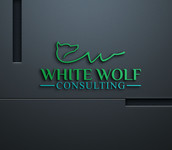 White Wolf Consulting (optional LLC) Logo - Entry #258