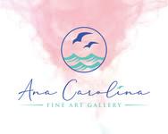 Ana Carolina Fine Art Gallery Logo - Entry #84