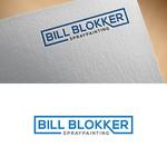 Bill Blokker Spraypainting Logo - Entry #189
