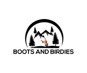 Boots and Birdies Logo - Entry #9