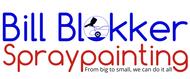 Bill Blokker Spraypainting Logo - Entry #181