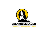 Breakneck Lager Logo - Entry #56