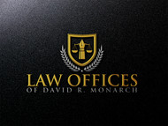 Law Offices of David R. Monarch Logo - Entry #224