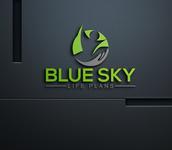 Blue Sky Life Plans Logo - Entry #80