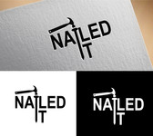 Nailed It Logo - Entry #295