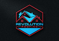 Revolution Roofing Logo - Entry #84
