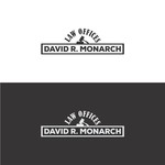 Law Offices of David R. Monarch Logo - Entry #124