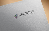 Growing Little Minds Early Learning Center or Growing Little Minds Logo - Entry #56
