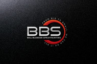Bill Blokker Spraypainting Logo - Entry #57