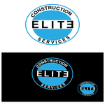 Elite Construction Services or ECS Logo - Entry #53