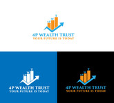 4P Wealth Trust Logo - Entry #168