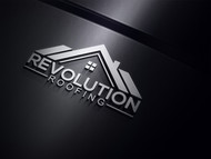 Revolution Roofing Logo - Entry #390