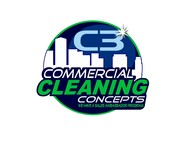 Commercial Cleaning Concepts Logo - Entry #32