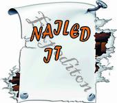 Nailed It Logo - Entry #205