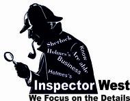 Inspector West Logo - Entry #158