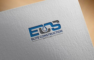 Elite Construction Services or ECS Logo - Entry #9