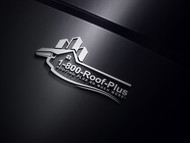 1-800-Roof-Plus Logo - Entry #109