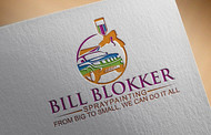 Bill Blokker Spraypainting Logo - Entry #128